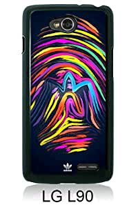 New Fashionable And Durable Designed Case For LG L90 With Adidas 9 Black Phone Case