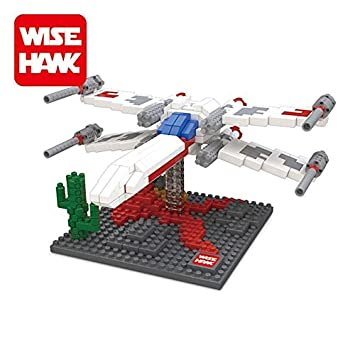 Star Wars Starfighter mini blocks 3D puzzle brain teaser
