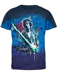 Graffiti Splatter Tie-Dye T-Shirt