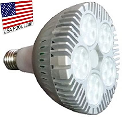 Amazon.com : LED Swimming Pool Light Bulb -120volts- 500watt ...