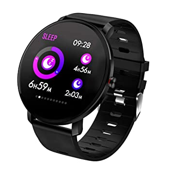 Men Smart Watch IP68 Waterproof IPS Full Touch Heart Rate ...