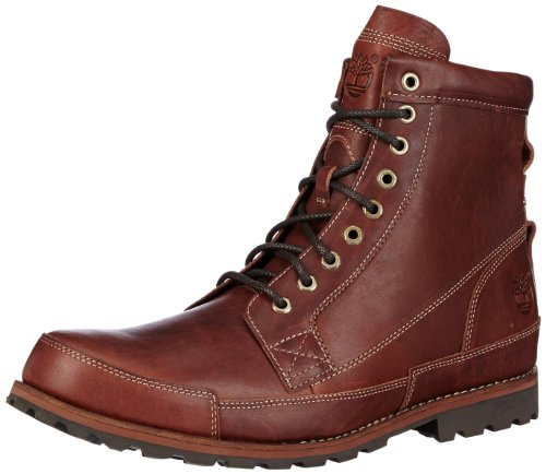 timberland earthkeepers red brown