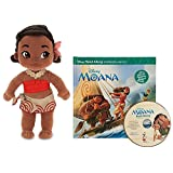 Disney Moana Plush Doll Baby Toddler Moana12 Inches with Moana Story Book And Audio CD