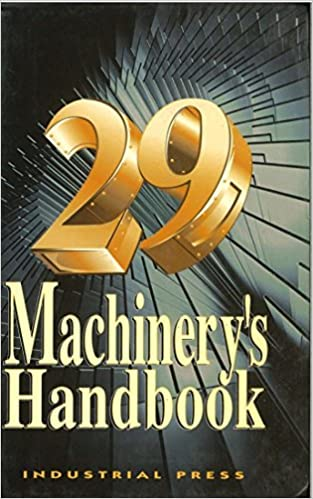 'BETTER' Machinery's Handbook, 29th. Ficha Hotel details please surtido Malcolm