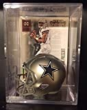 #8: Dallas Cowboys NFL Helmet Shadowbox w/ Dak Prescott card
