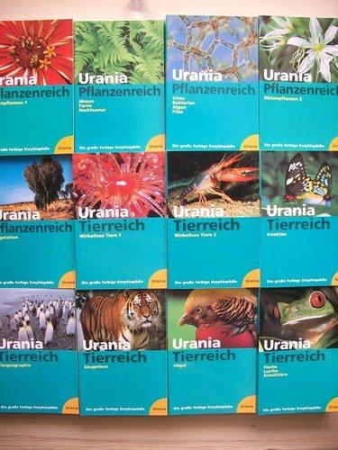 Die große farbige Enzyklopädie Urania- Pflanzenreich / Urania- Tierreich. 12 Bände.