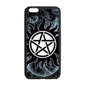 "LeonardCustom Durable TPU Rubber Gel Cover Case for iPhone 6 Plus 5.5"", Supernatural LCI6PU48"