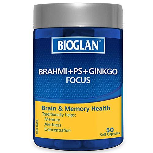 Bioglan Brahmi + PS + Ginkgo Focus 50 Capsules by Bioglan (Image #1)