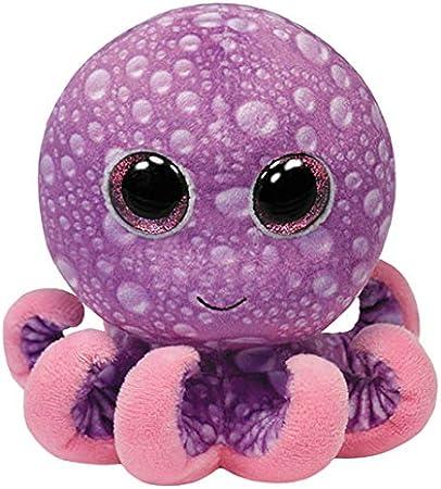 """TY Beanie Boo 5 """"piernas felpa del pulpo [Toy],Producto oficial,Artículo nuevo y licenciado"""