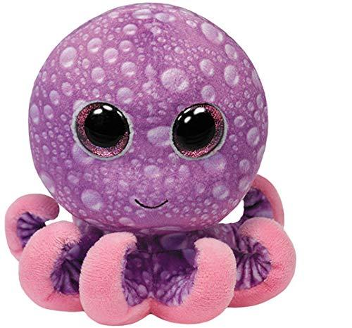 Legs Baby Beanie - Ty Beanie Boos Legs Octopus Regular Plush, 4.5 Inch, Purple