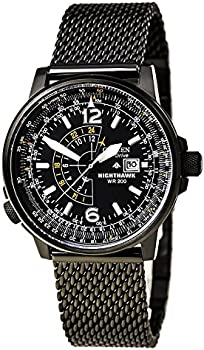 Citizen Eco-Drive Nighthawk Quartz Men's Watch