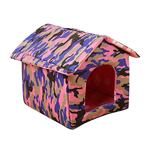 Garden Land Portable Folding CAT House – Soft, Warm,Waterproof and Comfortable and goes Everywhere Review