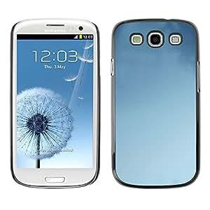 PC/Aluminum Funda Carcasa protectora para Samsung Galaxy S3 I9300 Blue Sky Clear Clouds Air Wallpaper / JUSTGO PHONE PROTECTOR