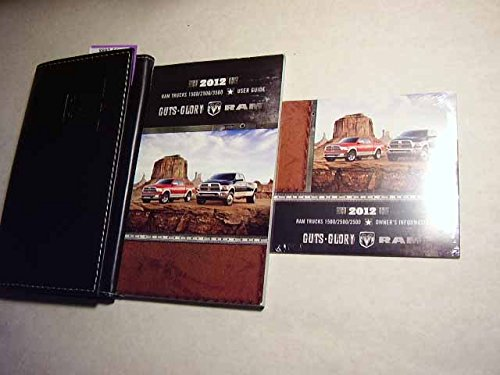 2012 Dodge Ram Truck 1500 2500 3500 Owners Manual