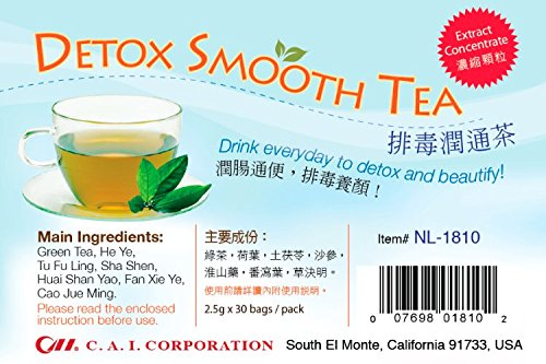 Amazon Com Green World Detox Smooth Tea Herbal Supplement 100