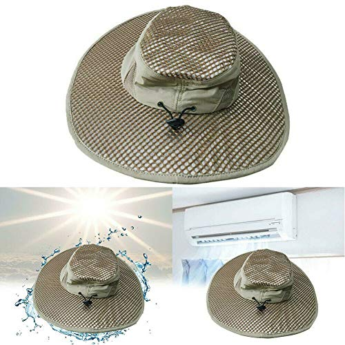 Hydro Cooling Bucket Hat Arctic Breathable Hat with UV Protection Keeps You Cool & Protected (Blazing Bucket)