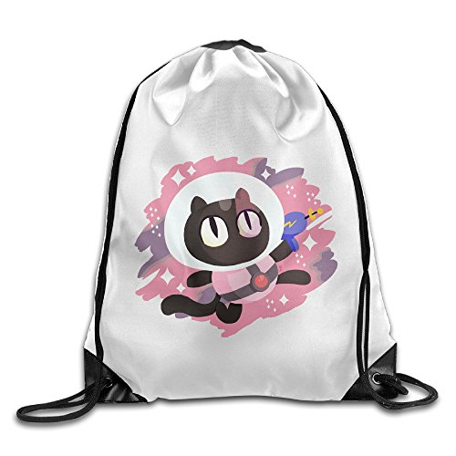 (Unisex Steven Universe Cookie Cat Sports Drawstring Backpack)