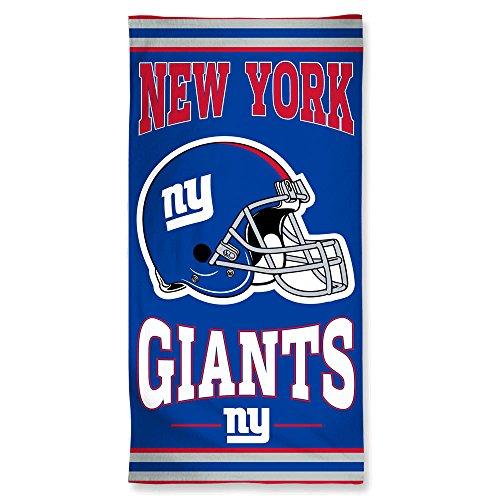 WinCraft NFL New York Giants Fiber Beach Towel, 9lb/30 x 60 ()
