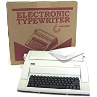 Nakajima WPT-150 Typewriter with Dust Cover designed for general office use.