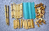 64 Piece Assorted Vintage Lincoln Logs