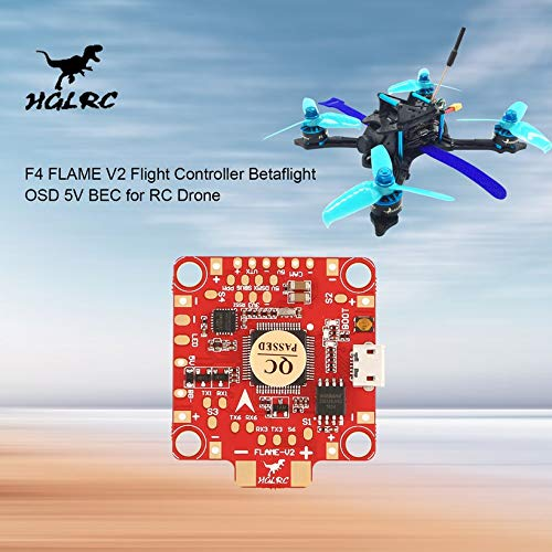 Wikiwand HGLRC F4 Flame V2 Lipo Flight Controller Betaflight OSD 5V BEC for RC Drone by Wikiwand (Image #7)