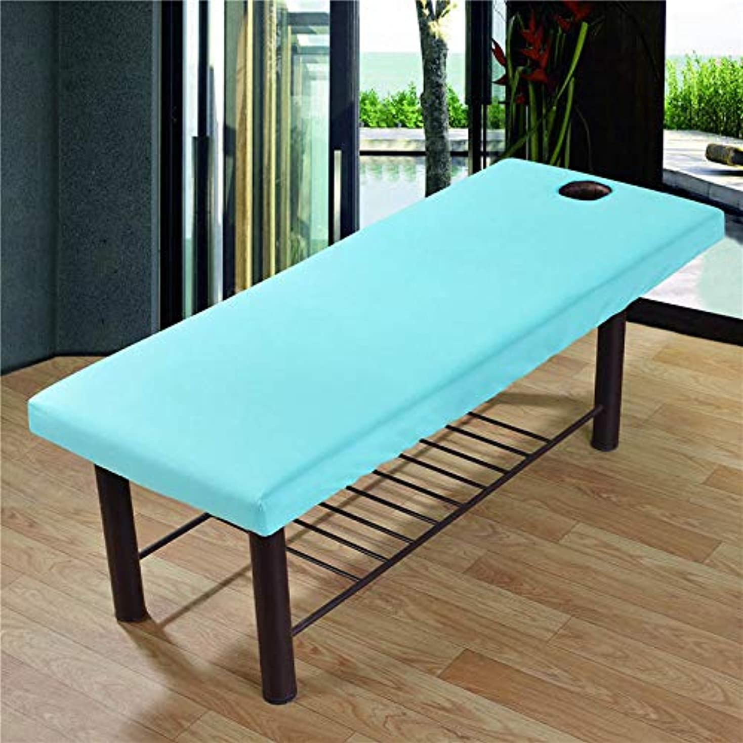 頭痛返還安全Profeel 美容院のマッサージ療法のベッドのための柔らかいSoliod色の長方形のマットレス