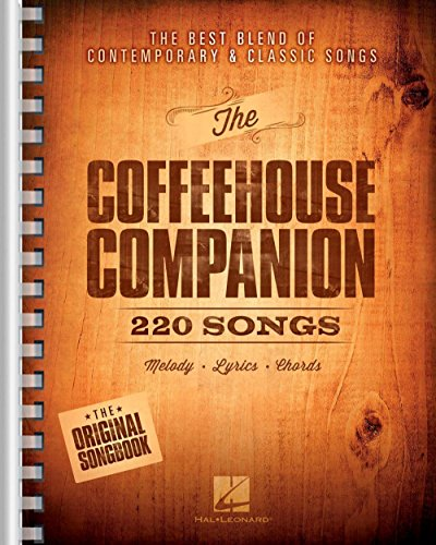 Hal Leonard The Coffeehouse Companion - The Best Blend of Contemporary & Classic Songs