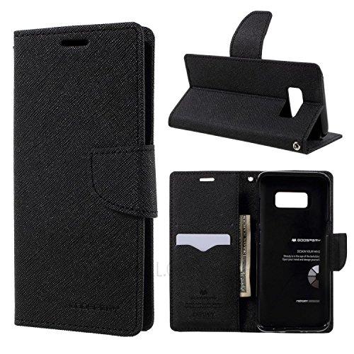 Finaux Stylish Mercury Flip Cover for Xiaomi Redmi 5A   Black