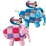 Ethical Pets Ellie Elephant Plush Dog Toy, 8-Inch