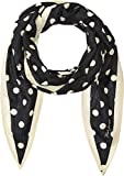 Marc Jacobs Women's Polka Dot Diamond Stole Scarf, Black Multi, One Size