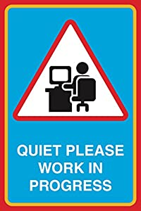 Crazy image pertaining to printable quiet signs
