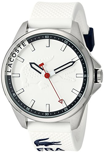 Lacoste Men's 2010841 Capbreton Analog Display Japanese Quartz White Watch (Watches Lacoste)