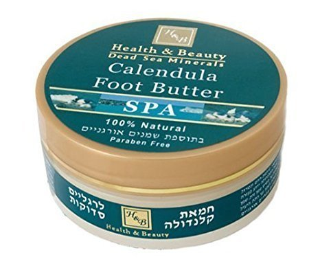 Calendula Butter for Cracked Feet by Health & Beauty Dead Sea Minerals