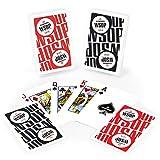 Copag Main Event 2016 WSOP World Series of Poker Plastic Playing Cards, Red/Black, Bridge Narrow Size, Regular Index