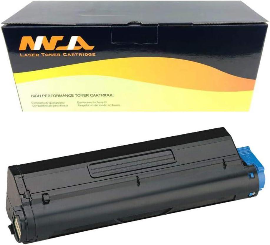 Ninjatoner Compatible Toner Cartridge Replacement for Okidata 43502001 B4550 B4600 B4600N Printers High Yield Black, 1 Pack