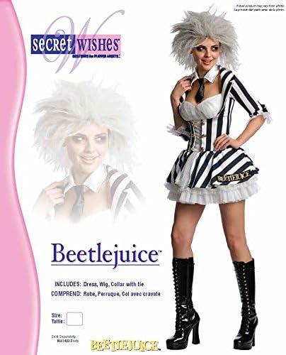 Amazon Com Secret Wishes Women S Beetlejuice Costume Clothing