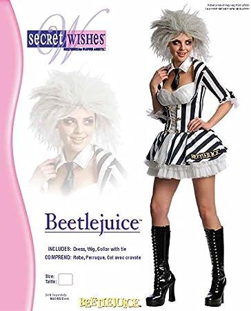 Rubies Miss - Disfraz de Beetlejuice para Mujer, Talla M (UK 12 ...
