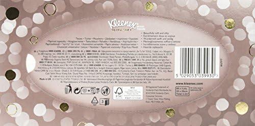 Kleenex Ultrasoft Caja de pañuelos (80 pañuelos por caja): Amazon ...
