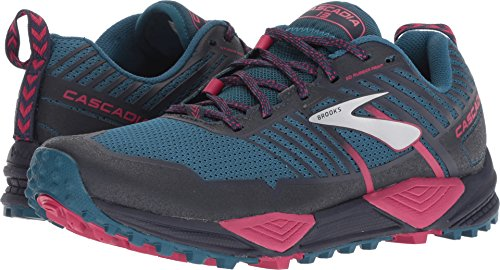 Brooks Women's Cascadia 13 Ink/Navy/Pink 8.5 B US