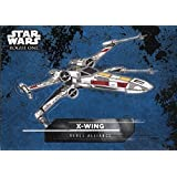 Star Wars Rogue One Mission Briefing Sticker Chase Card #9 X-Wing