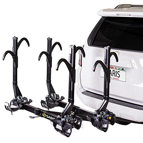 Saris Superclamp 4-Bike Hitch Car Rack