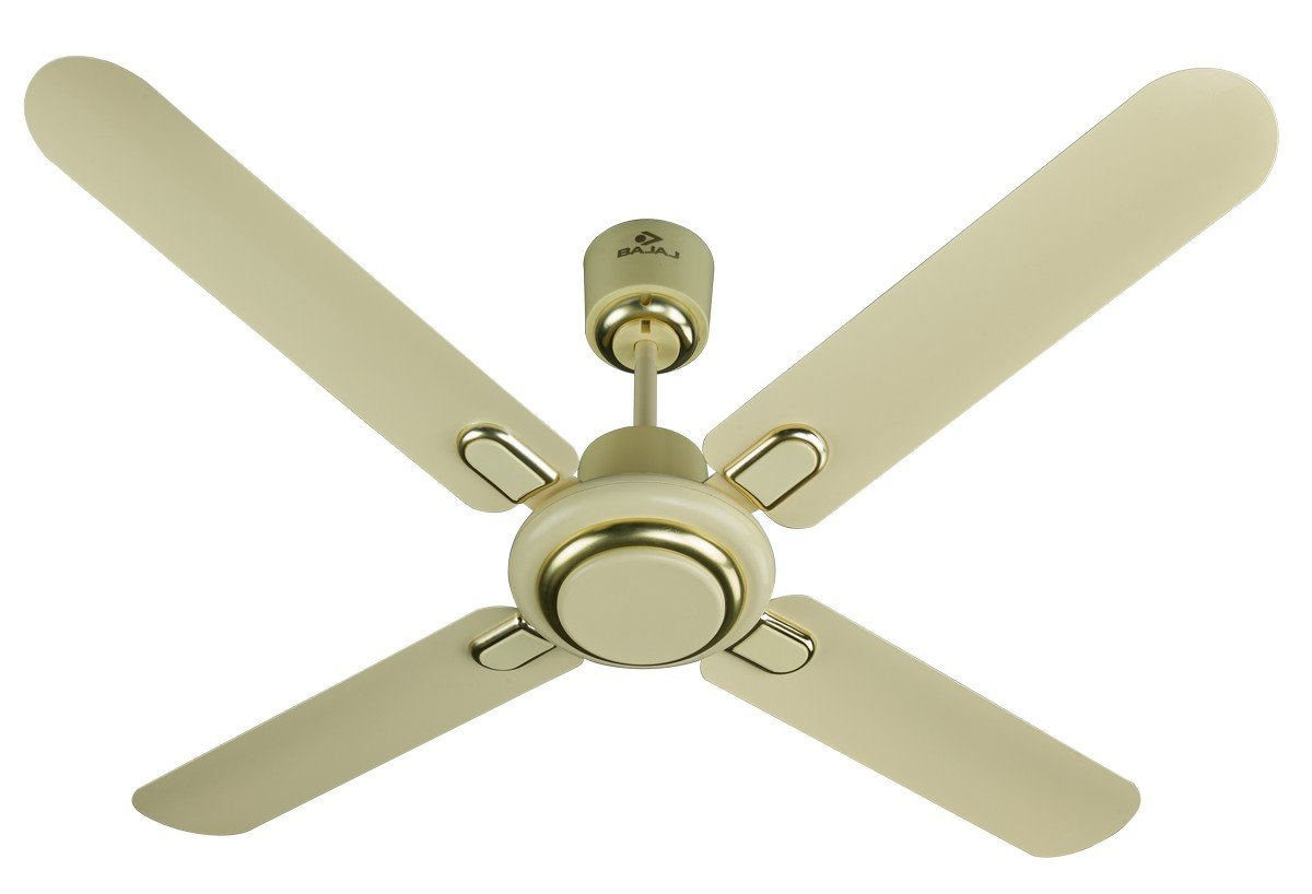 Bajaj Regal Gold 4 Blade 1200 Mm Ceiling Fan Ivory At Low S In India