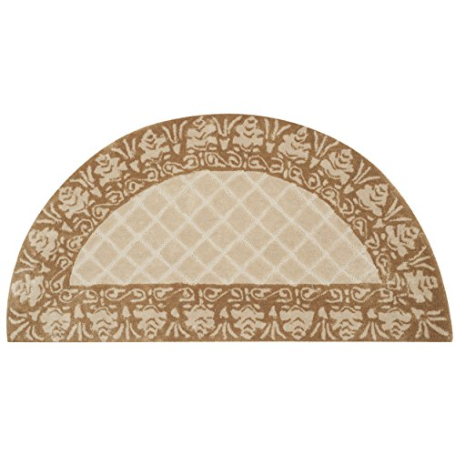 Safavieh Total Performance Collection TLP755A Ivory and Creme Hearth, 2' x 4'