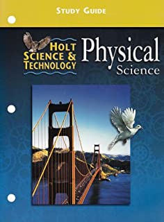 Printables Holt Science And Technology Worksheets amazon com holt science and technology california directed study guide physical science