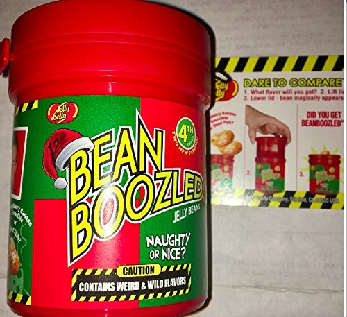 Jelly Belly Holiday Bean Boozled Naughty or Nice Dispenser