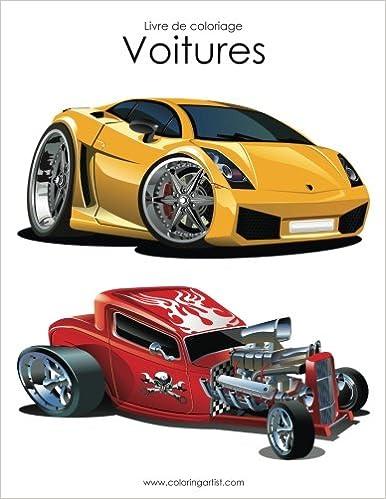 Coloriage Adulte Voiture.Livre De Coloriage Voitures 1 Amazon Fr Nick Snels Livres