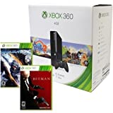 4GB Xbox 360 E Console with Peggle 2, Metal Gear Rising Revengeance and Hitman Absolution. A great value in one easy package