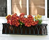 Cheap 54 Inch Arch Window Box Cage with Bronze Tone Liner