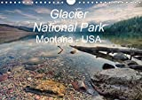 Glacier National Park Montana - USA (Wandkalender 2020 DIN A4 quer): Kurzvisite im Glacier National Park im Hochgebirge der Rocky Mountains. (Monatskalender, 14 Seiten )
