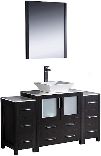 Fresca Bath FVN62-123012ES-VSL Torino 54″ Vanity